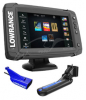 Эхолот Lowrance Elite-7Ti Mid/High/TotalScan (арт.12970174)