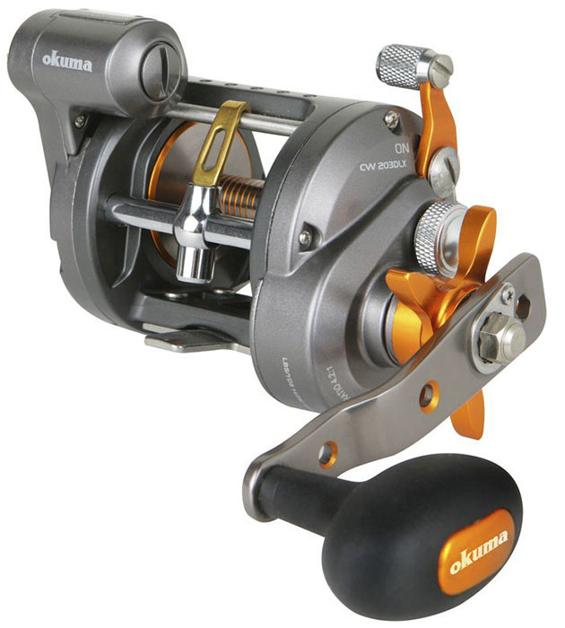 Катушка Okuma Cold Water Line Counter Reel