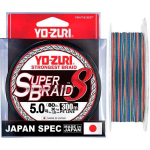 Yo-Zuri Superbraid 8 Multicolor