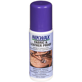 Средство для ухода Nikwax Fabric&ampLeather Proof 125ml (арт.17510110)