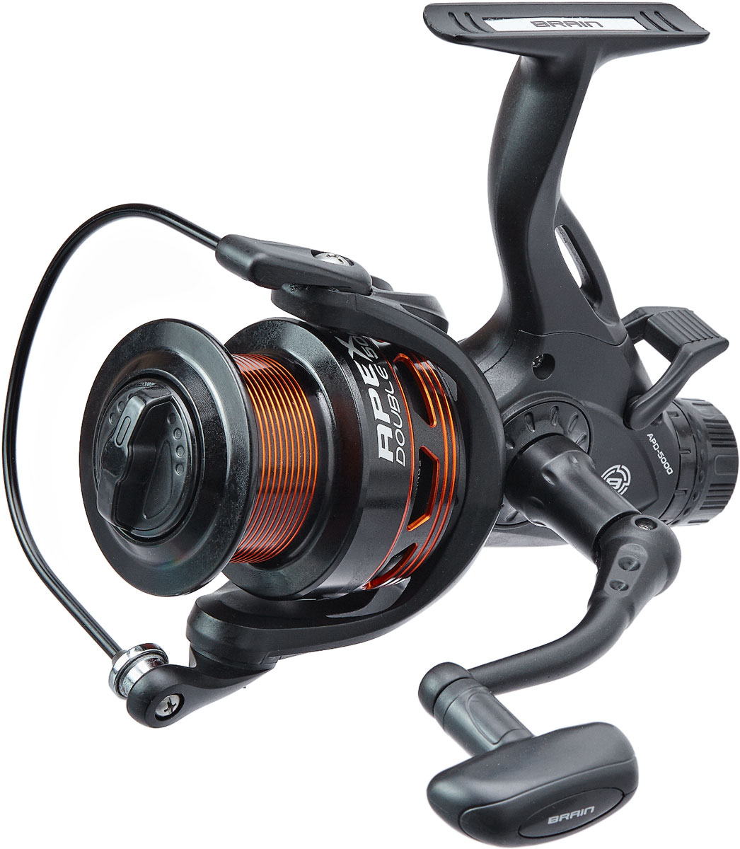 Катушка Brain Apex Double Baitrunner 3000 6+1BB 5.2:1 (арт.18584167)