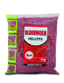 Пеллетс Rod Hutchinson Bloodworm 4mm 500g (арт.19080154)