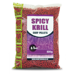 Пеллетс Rod Hutchinson Spicy Krill Carp 4,5 mm 800g (арт.19080158)