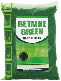 Пеллетс Rod Hutchinson Betaine Green Carp Pellets 2mm 700g (арт.19080211)