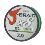 Шнур Daiwa J-Braid X8 0,22mm-150m CHARTREUSE (арт.1919699020)