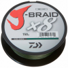 Шнур Daiwa J-Braid X8 150m Dark Green 0.1mm 13lb/6kg (арт.21352437) Фото 1