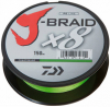 Шнур Daiwa J-Braid X8 150m Chartreuse 0.16mm 20lb/9kg (арт.21352444) Фото 1