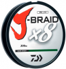 Шнур Daiwa J-Braid X8 300m Dark Green 0.55mm 120lb/54.4kg (арт.21352450) Фото 2