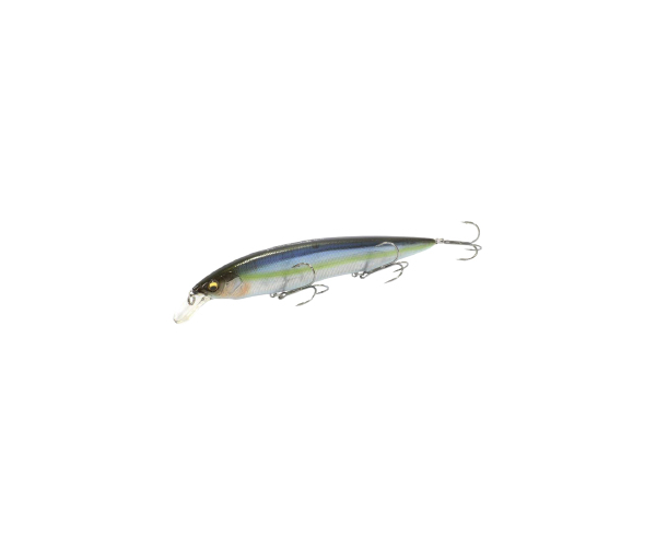 Воблер Megabass Kanata Ayu 160F 160mm 30.0g MG Sexy Skeleton (арт.26590376)