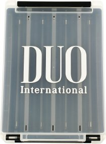 Коробка DUO Reversible Lure Case 180 Pearl Black/Clear (арт.343192)