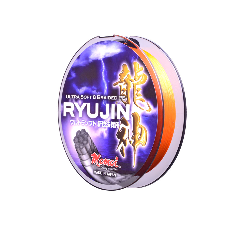 MOMOI Шнур RYUJIN (150m) 0.10 mm ORANGE (арт.3838002385)
