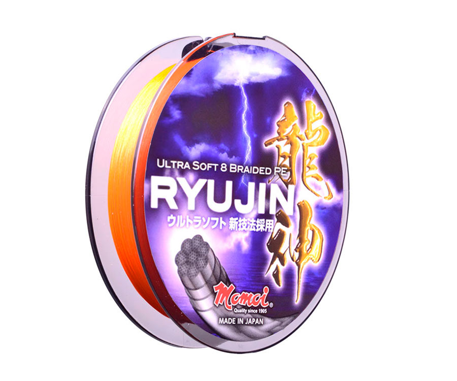 Шнур Momoi Ryujin Orange 130м #0.6 0.12мм (арт.3838019596)