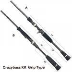 Спиннинг Tail Walk Crazybass KR