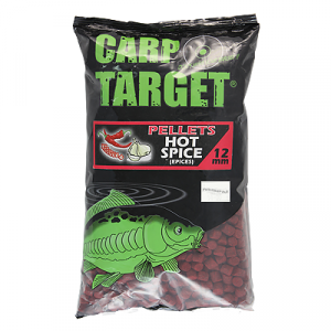 Пеллетс Fun Fishing Carp Target Hot Spice 1кг 12мм (арт.40403014890)