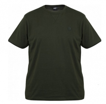 Fox Green  black Brushed cotton T