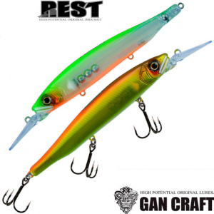Воблер Gan Craft REST