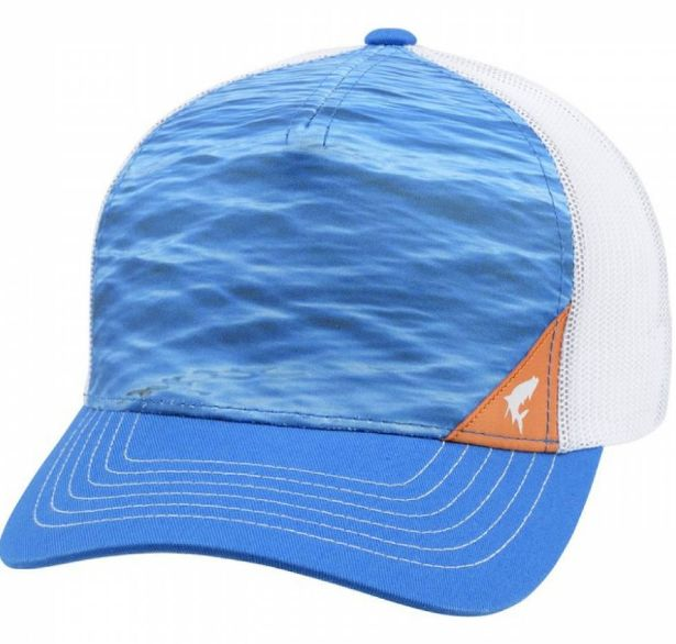 44bf220293e Кепка Simms 5-panel Trucker water electrc blue One Size