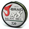 Шнур DAIWA J-BRAID X8 Dark Green  0,55мм 120lb 300м (арт.1919700927) Фото 1