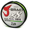 Шнур Daiwa J-Braid X8 0,42mm-300m CHARTREUSE (арт.1919742530) Фото 1