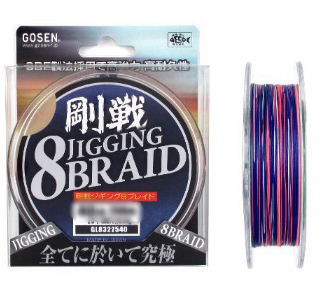 Шнур GOSEN JIGGING 8 BRAID