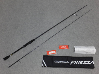 Спиннинг Graphiteleader 19 Finezza GLFS-7112ML-T 2.41m 1-10g (арт.21352681)