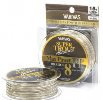 Varivas Super Trout Advance Max Power PE