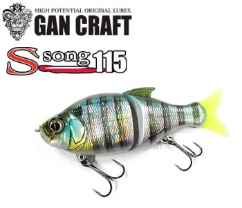 Воблер Gan Craft Jointed Claw S-Song