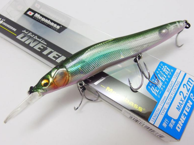 Воблер Megabass ONETEN R+1 col. ITO CLEAR LAKER (арт.909929217)