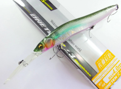 Воблер Megabass ONETEN R+3 col. ITO CLEAR LAKER (арт.909931823)