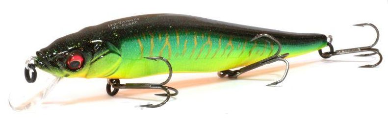 Воблер Megabass VISION ONETEN Hi-FLOAT col. GLX HOT TIGER (арт.909925215)